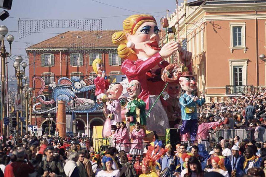 Nice Karnavalına Katılın