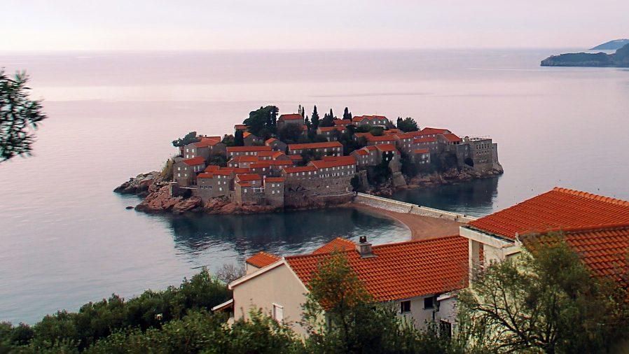 Sveti Stefan Adası'nı Görün