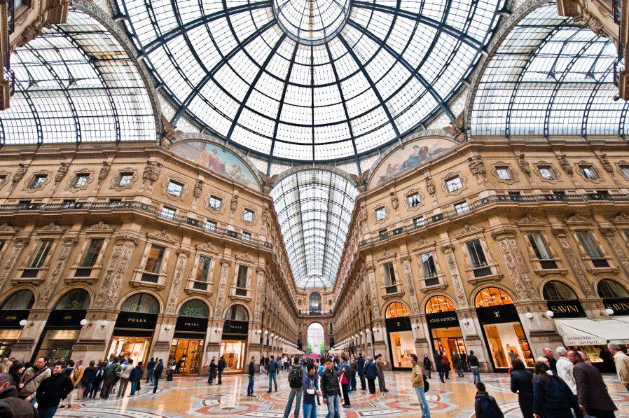 Grand Galleria Vittorio Emanuele II'ye Gidip AVM Nasıl Olurmuş Görün
