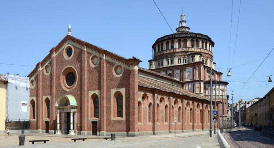 Santa Maria delle Grazie Kilisesi (Son Yemek Freski)