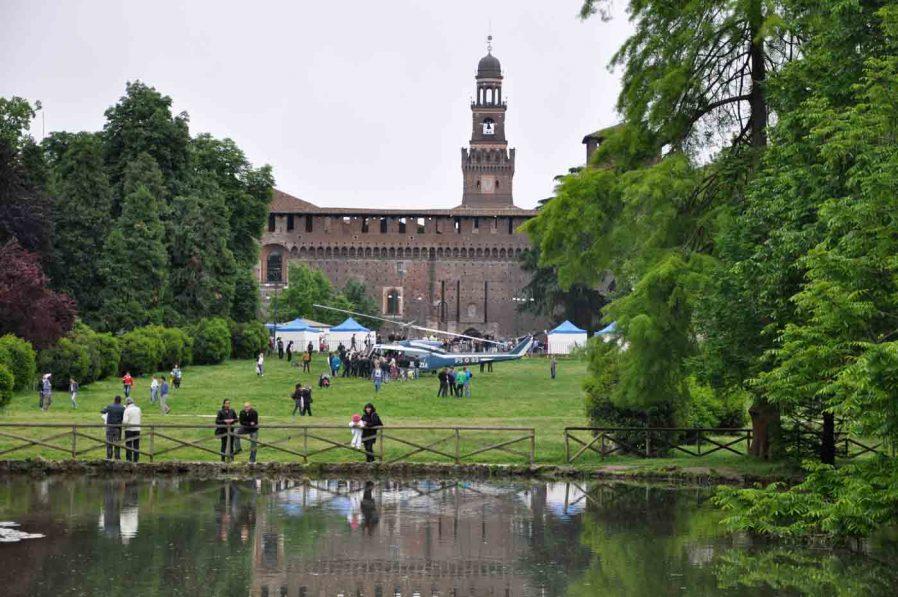 Sempione Parkı (Parco Sempione)